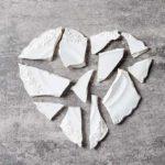 Broken plates, Japanese art and healing hearts